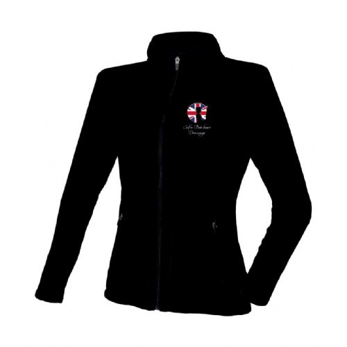 Black Sofie Butchart Dressage Fleece Jacket